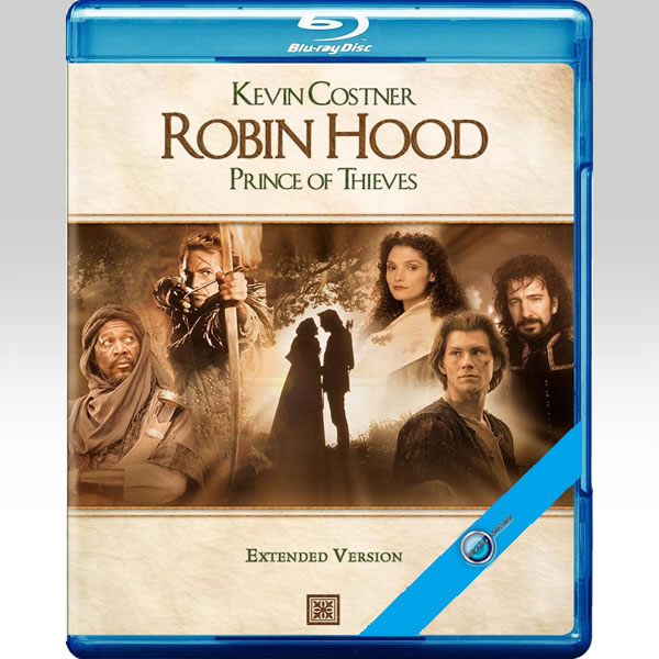 ROBIN HOOD: PRINCE OF THIEVES [1991] Extended (BLU-RAY)