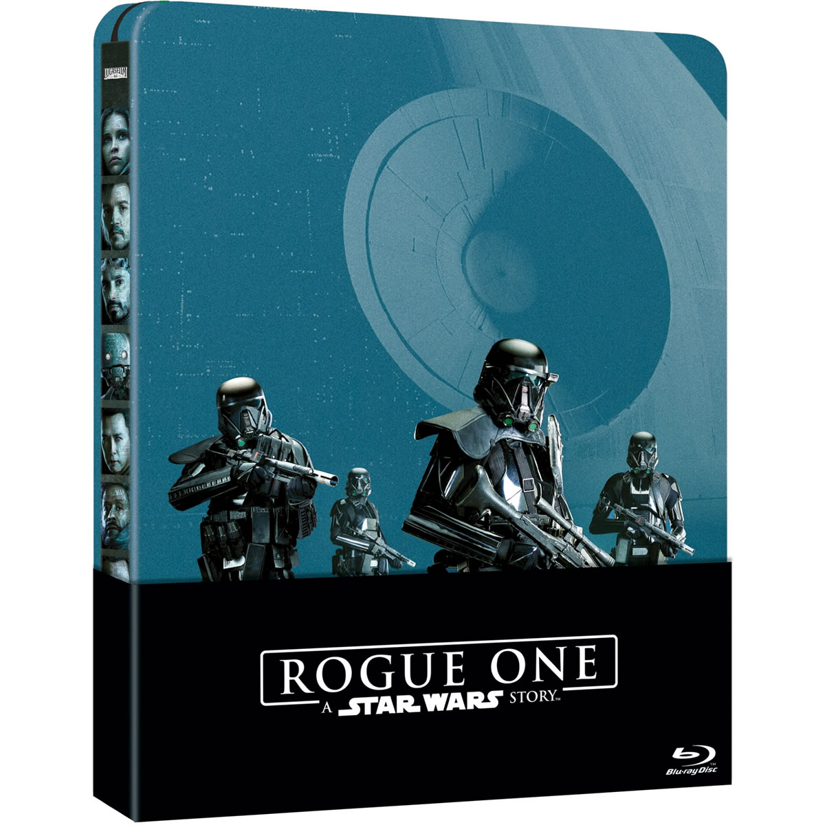 ROGUE ONE: A STAR WARS STORY - Limited Edition Steelbook [ΕΛΛΗΝΙΚΟ] (2 BLU-RAY) + ΔΩΡΟ ΠΡΟΣΤΑΤΕΥΤΙΚΗ ΘΗΚΗ Steelbook