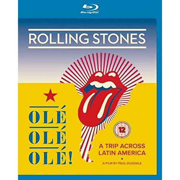 THE ROLLING STONES: OLE OLE OLE! (BLU-RAY)