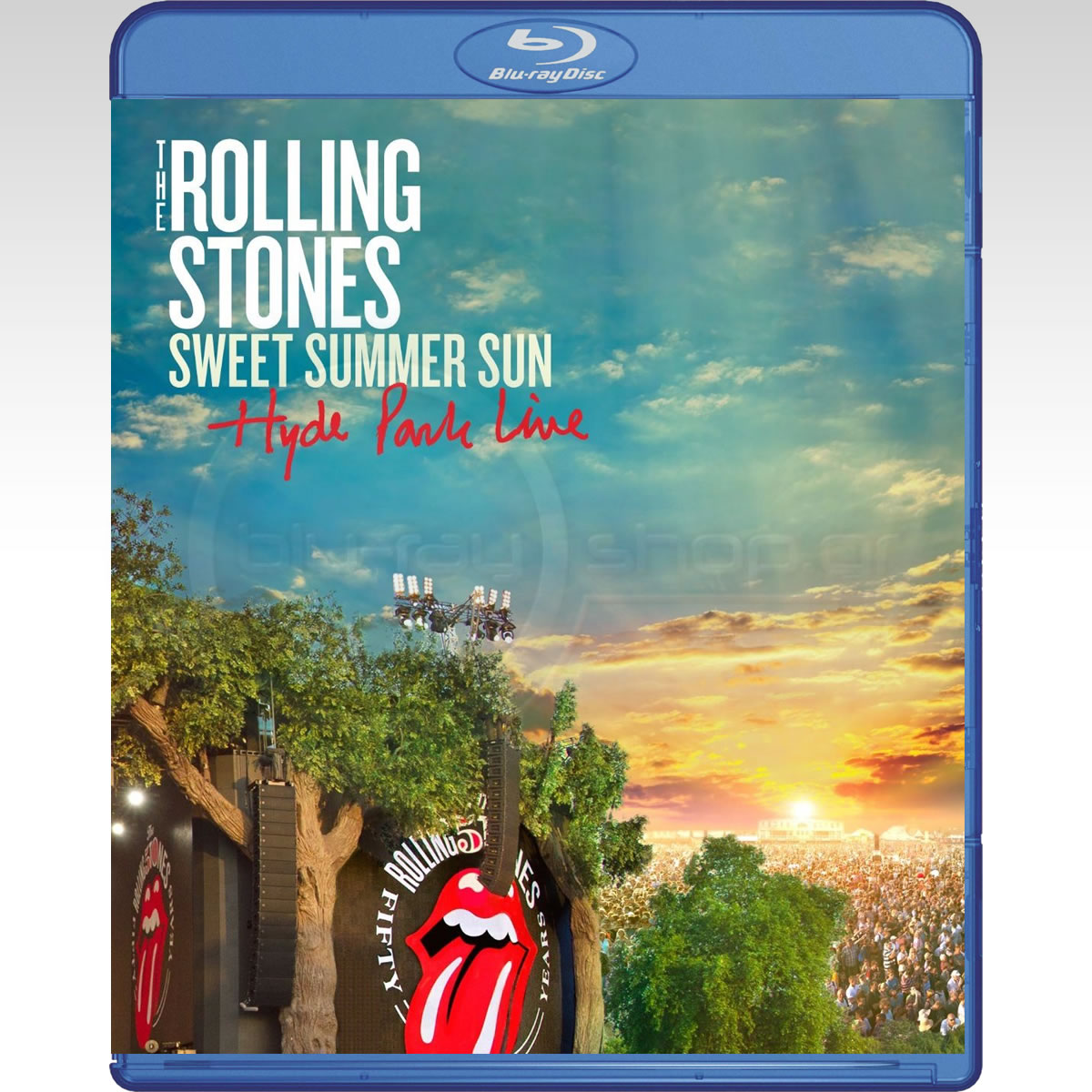 THE ROLLING STONES: SWEET SUMMER SUN - HYDE PARK LIVE (BLU-RAY)