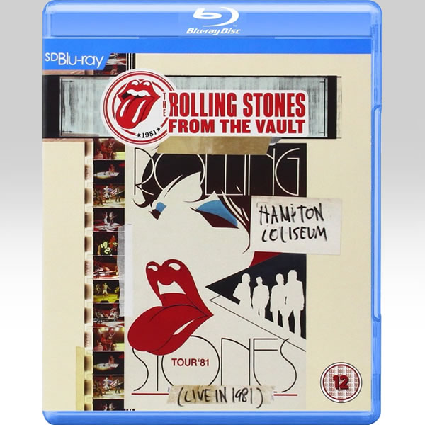 ROLLING STONES: FROM THE VAULT - HAMPTON COLISEUM - LIVE IN 1981 [SD UPSCALED] (BLU-RAY)
