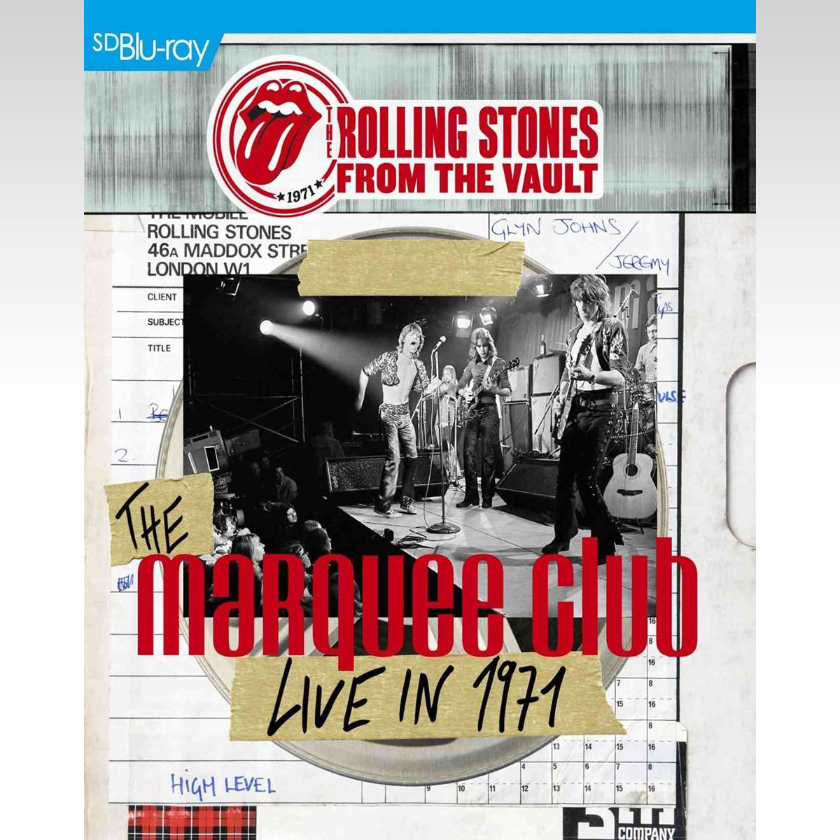 ROLLING STONES: FROM THE VAULT - THE MARQUEE - LIVE IN 1971 [SD UPSCALED] (BLU-RAY)