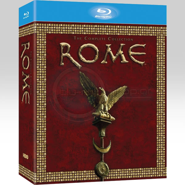 ROME: THE COMPLETE 2 FIRST SEASONS - ΡΩΜΗ: Η ΠΡΩΤΗ ΚΑΙ Η ΔΕΥΤΕΡΗ ΠΕΡΙΟΔΟΣ (BLU-RAY)