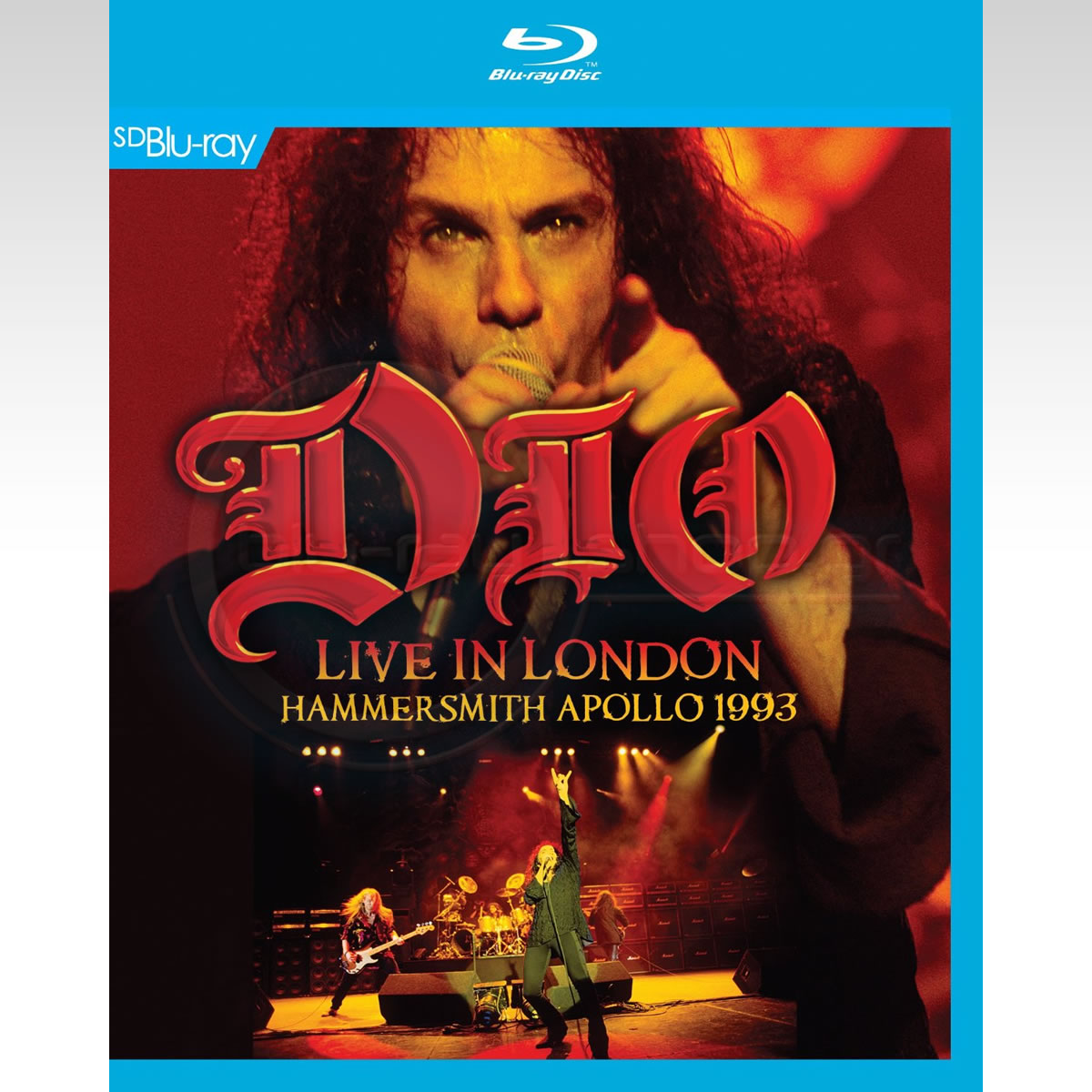 DIO: LIVE IN LONDON - HAMMERSMITH APOLLO 1993 [SD UPSCALED] (BLU-RAY)