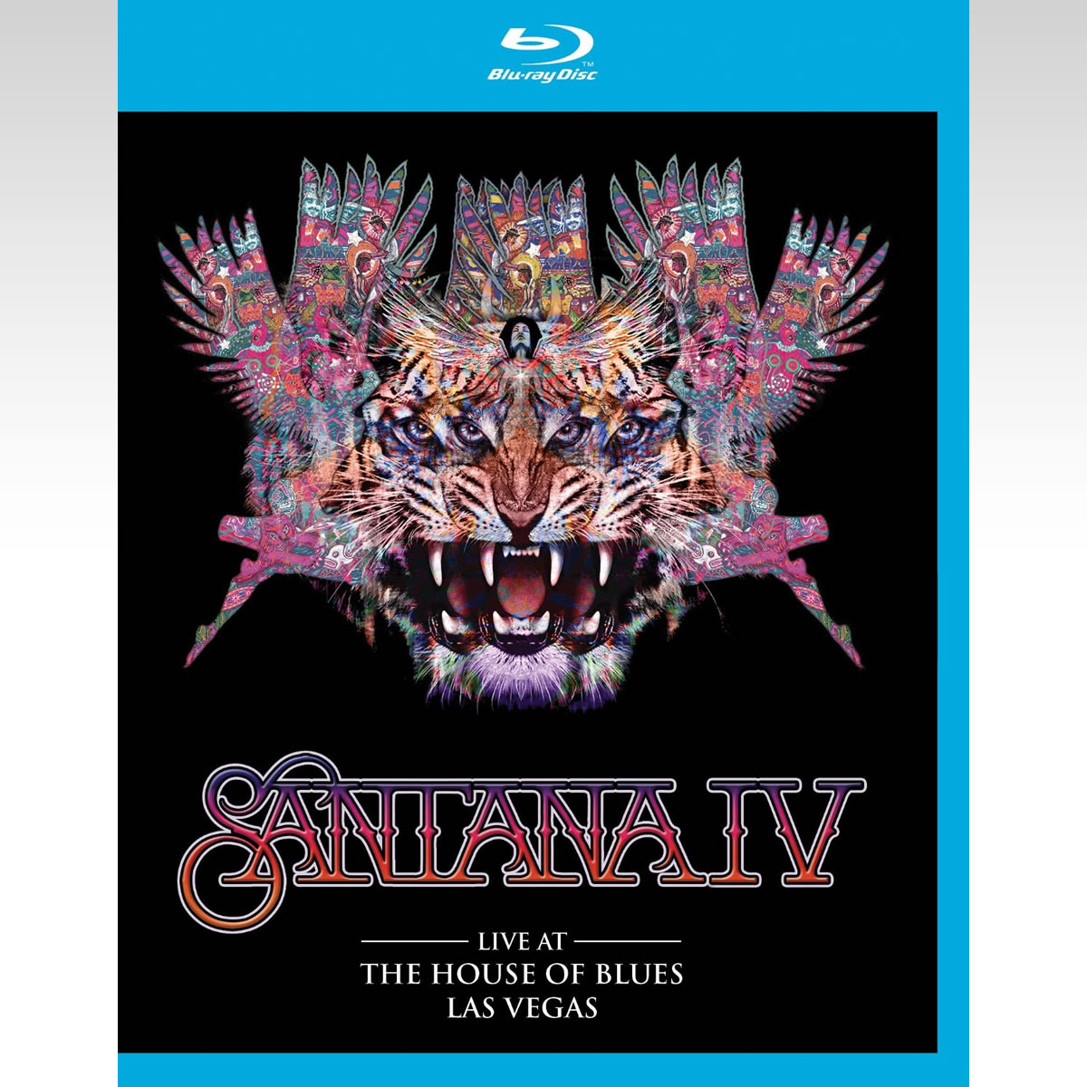 SANTANA: SANTANA IV - LIVE AT THE HOUSE OF BLUES LAS VEGAS (BLU-RAY)