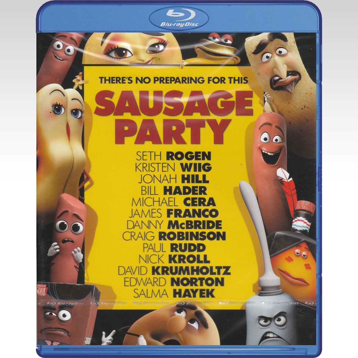 SAUSAGE PARTY - ΠΑΡΤΙ ΜΕ ΛΟΥΚΑΝΙΚΑ (BLU-RAY)