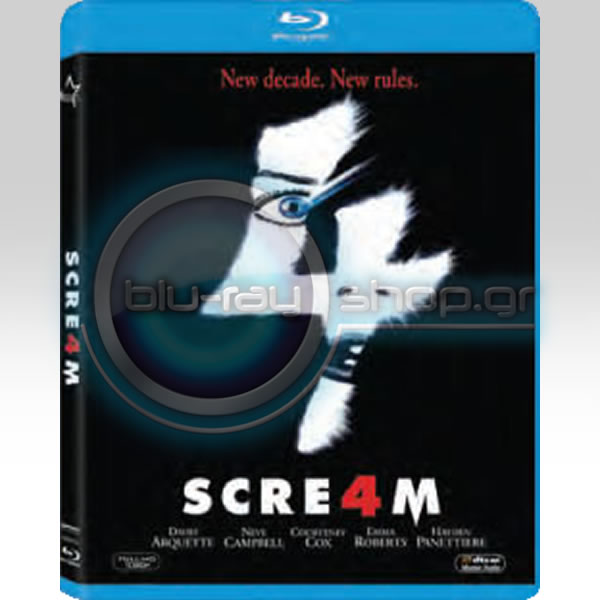 SCRE4M - SCREAM 4 (BLU-RAY)