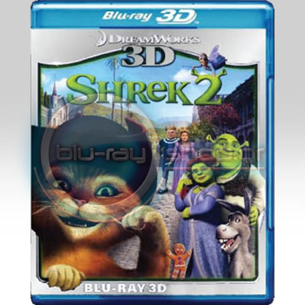 SHREK 2 - ���� 2 (BLU-RAY 3D) ���� ���������������
