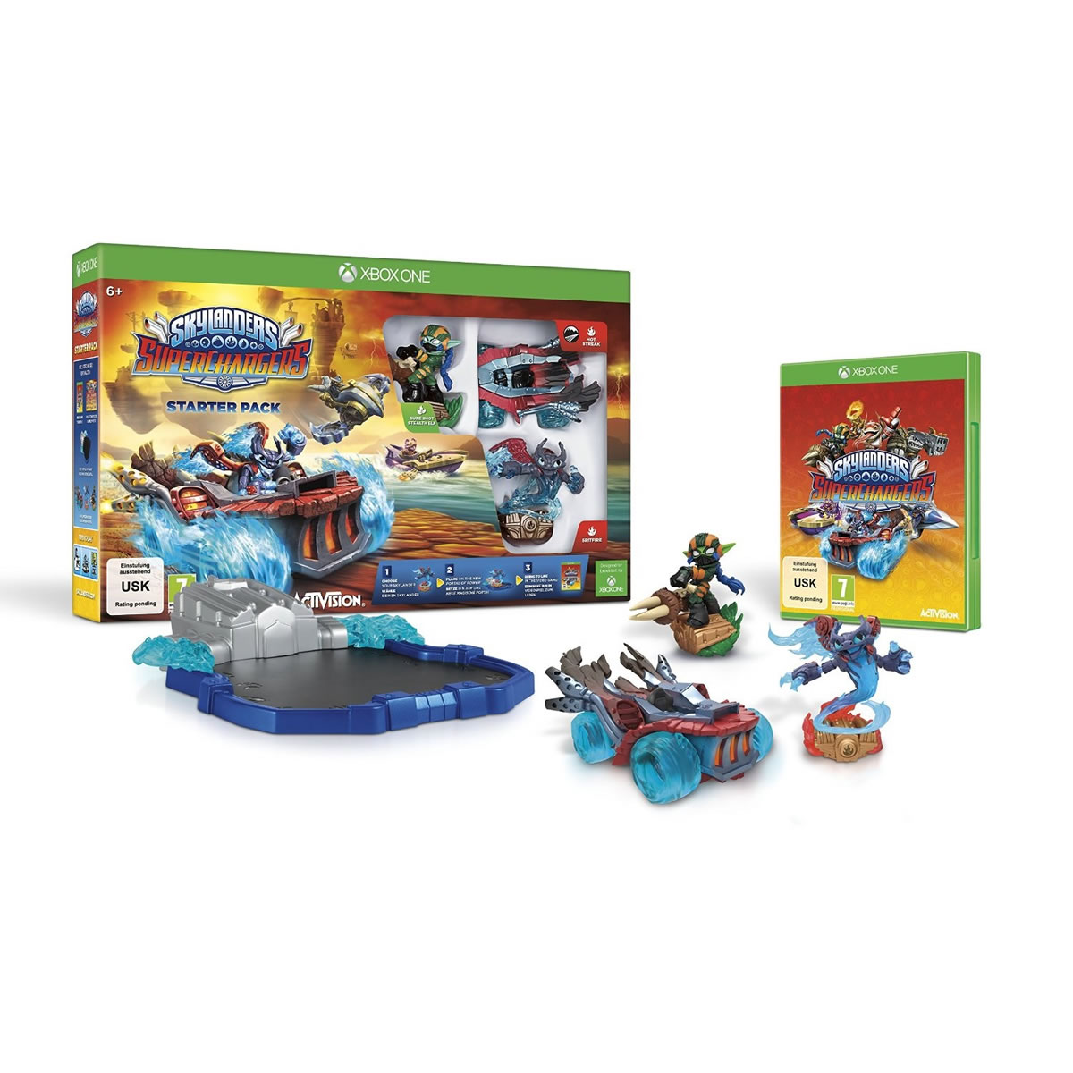 SKYLANDERS: SUPERCHARGERS - STARTER PACK (XBOX ONE)