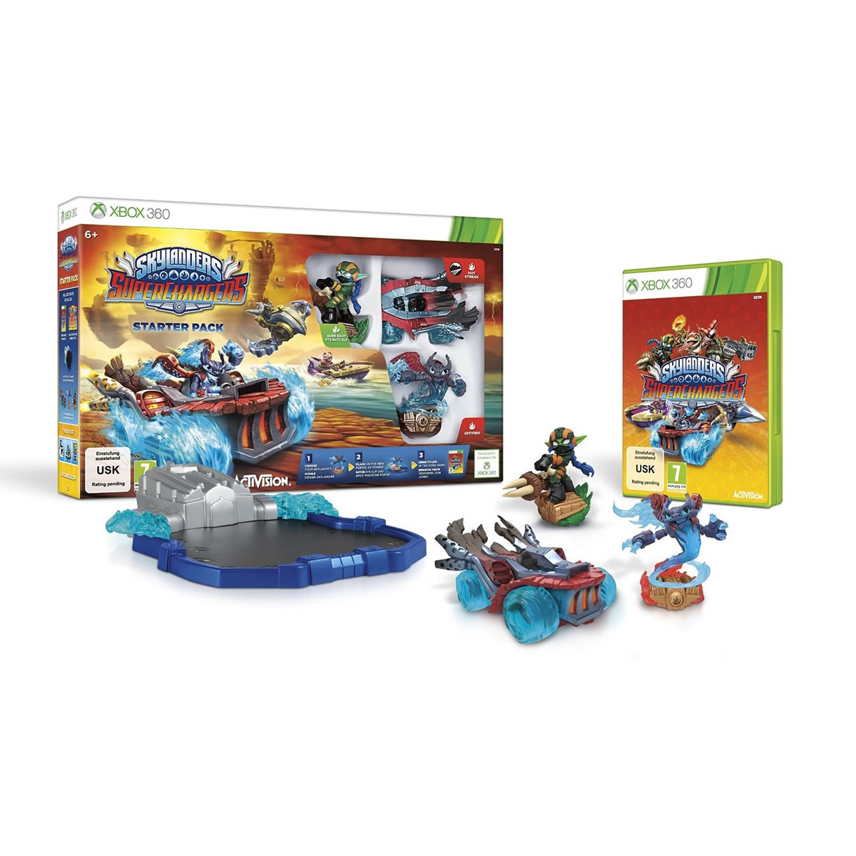 SKYLANDERS: SUPERCHARGERS - STARTER PACK (XBOX 360)