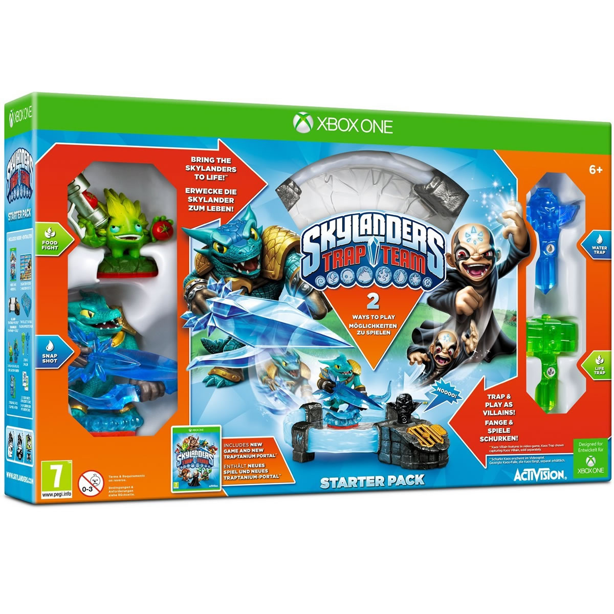 SKYLANDERS: TRAP TEAM - STARTER PACK (XBOX ONE)