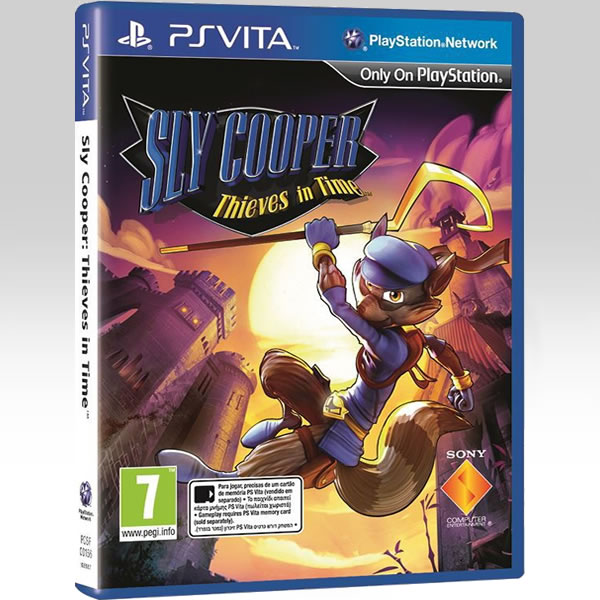 SLY COOPER: THIEVES IN TIME [ΕΛΛΗΝΙΚΟ] (PS VITA)