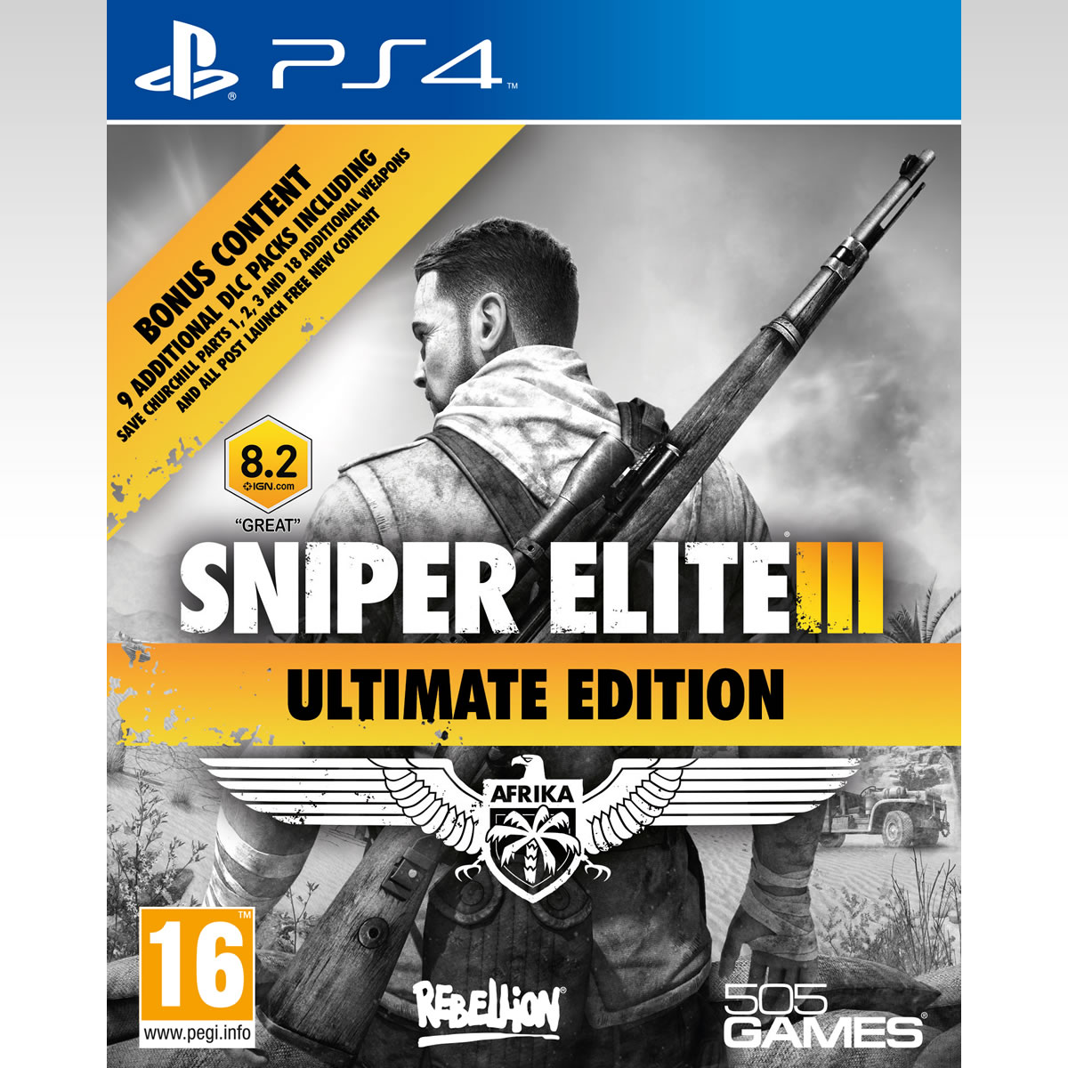 SNIPER ELITE III - ULTIMATE EDITION (PS4)