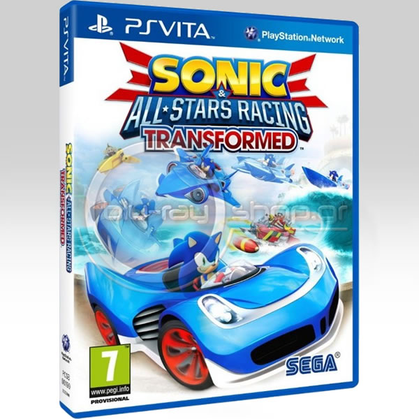 SONIC ALL-STARS RACING TRANSFORMED (PS VITA)