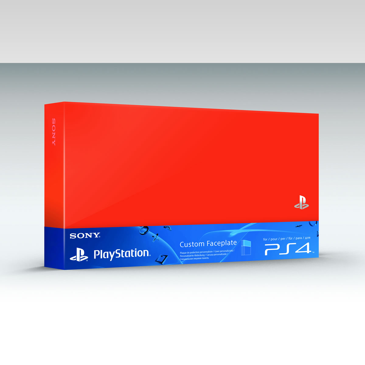 SONY OFFICIAL HDD COVER Neon Orange (PS4)