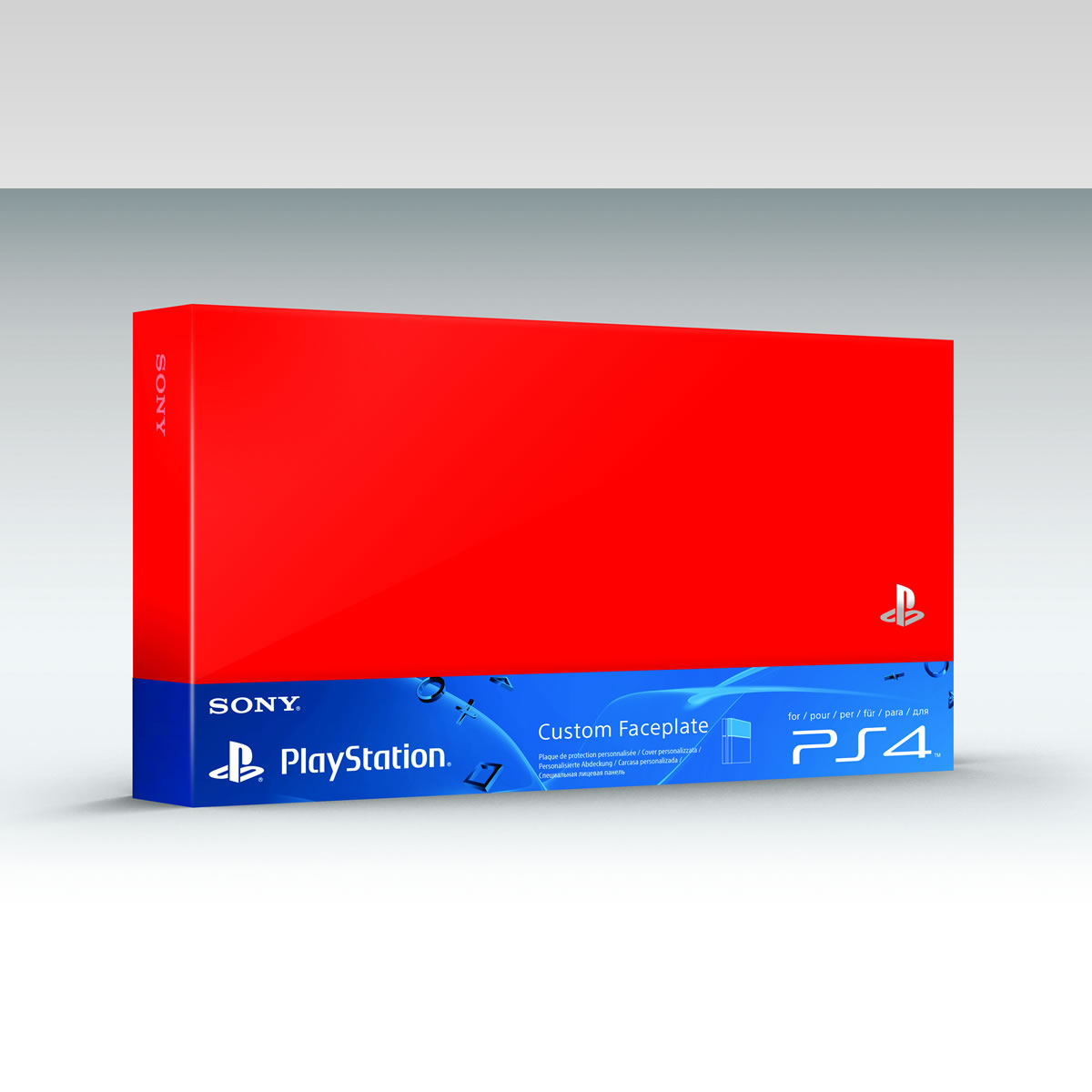 SONY OFFICIAL HDD COVER Red (PS4)