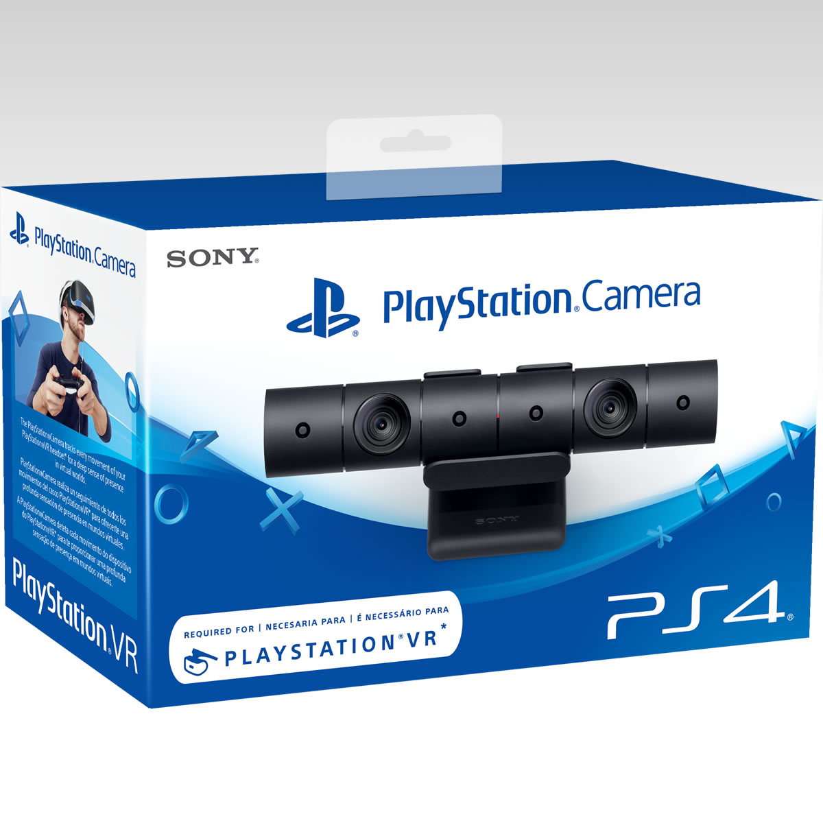 SONY OFFICIAL New PLAYSTATION 4 CAMERA v2 - SONY ΕΠΙΣΗΜΗ ΝΕΑ PLAYSTATION 4 CAMERA v2 (PS4, PSVR)