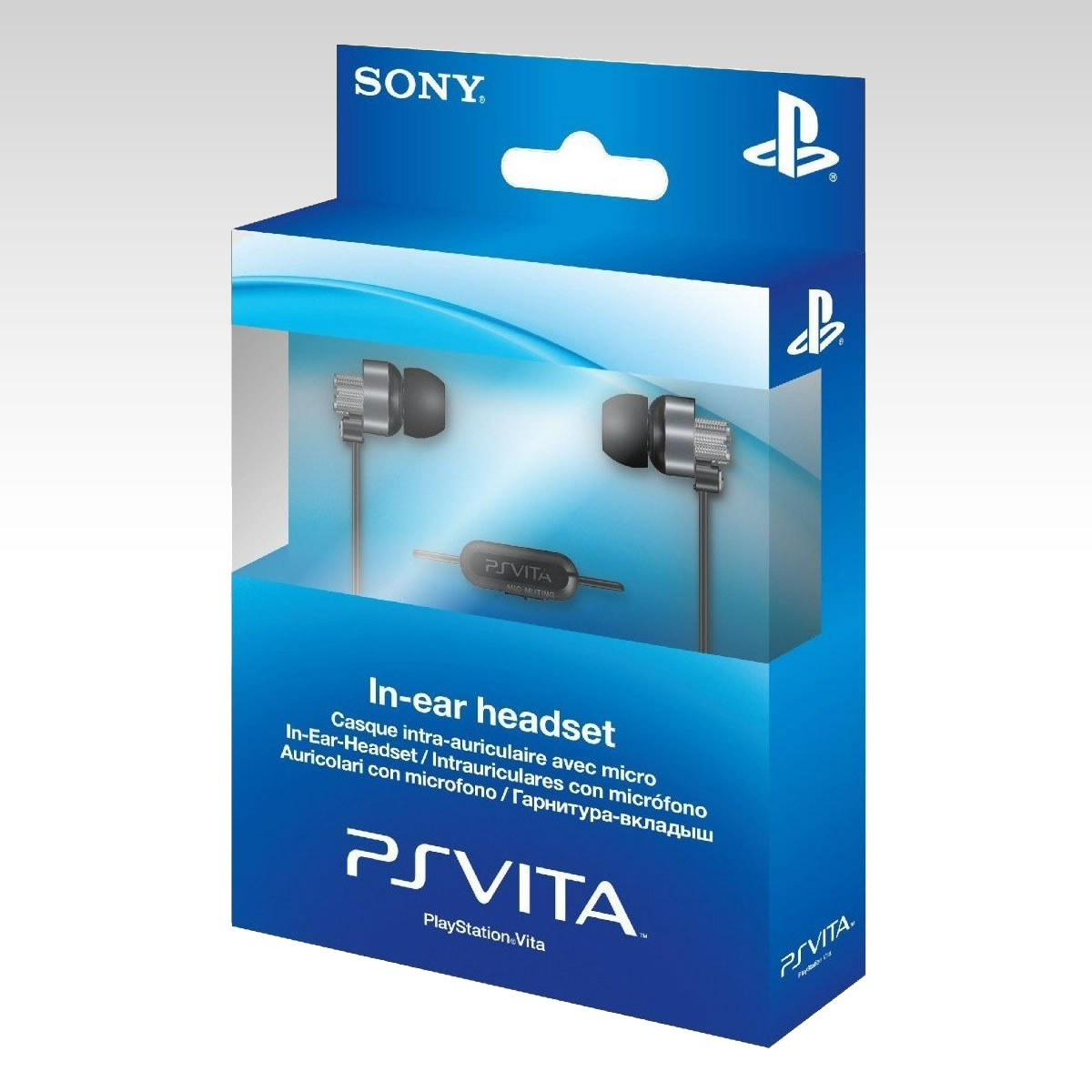 SONY OFFICIAL PS VITA In-ear HEADSET - SONY PS VITA  ΕΠΙΣΗΜΑ In-ear ΣΤΕΡΕΟΦΩΝΙΚΑ ΑΚΟΥΣΤΙΚΑ (PS VITA)