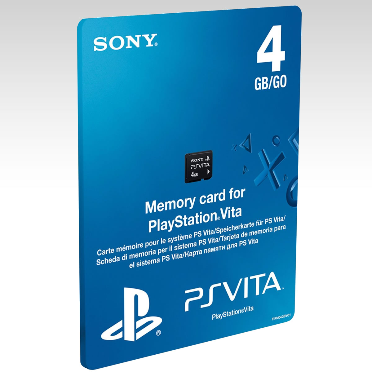 SONY OFFICIAL PS VITA MEMORY CARD 4GB - SONY PS VITA ΕΠΙΣΗΜΗ ΚΑΡΤΑ ΜΝΗΜΗΣ 4GB (PS VITA)