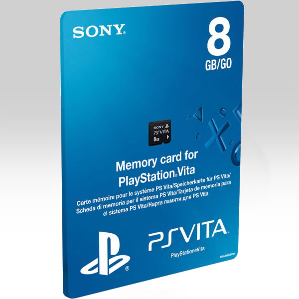SONY OFFICIAL PS VITA MEMORY CARD 8GB - SONY PS VITA ΕΠΙΣΗΜΗ ΚΑΡΤΑ ΜΝΗΜΗΣ 8GB (PS VITA)