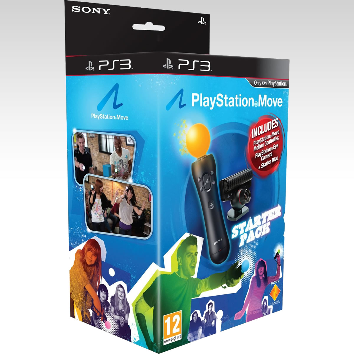 SONY PLAYSTATION MOVE - STARTER PACK (PS3)