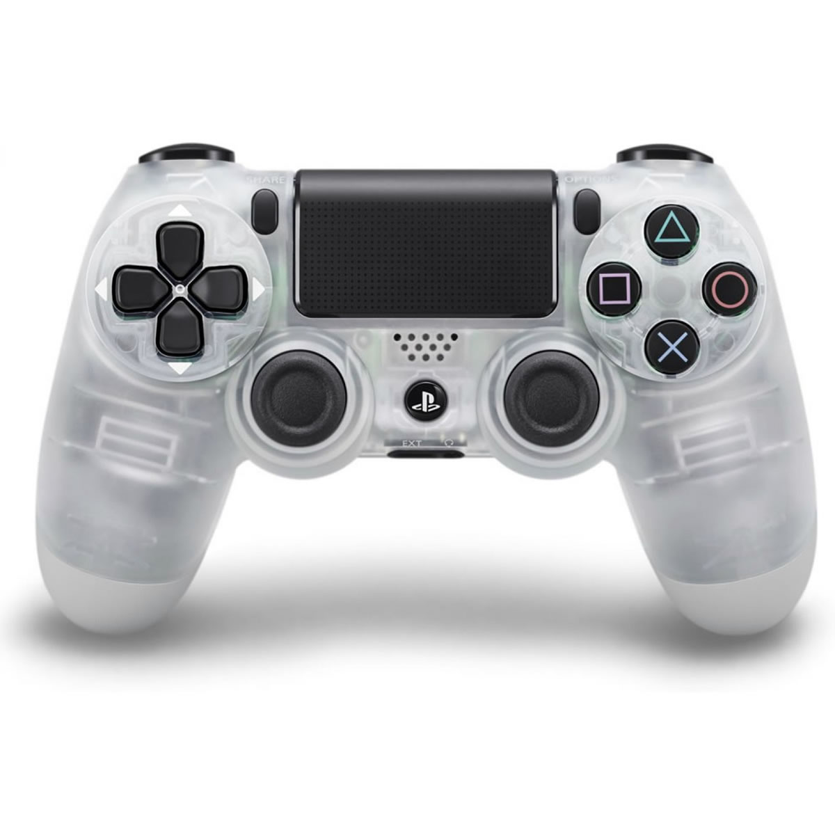 SONY OFFICIAL WIRELESS CONTROLLER DUALSHOCK 4 Crystal - SONY ������� �������� ����������� DUALSHOCK 4 ������� PS719817451 (PS4)