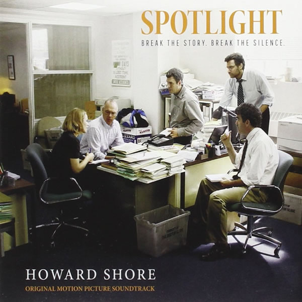 SPOTLIGHT - THE ORIGINAL MOTION PICTURE SOUNDTRACK (AUDIO CD)