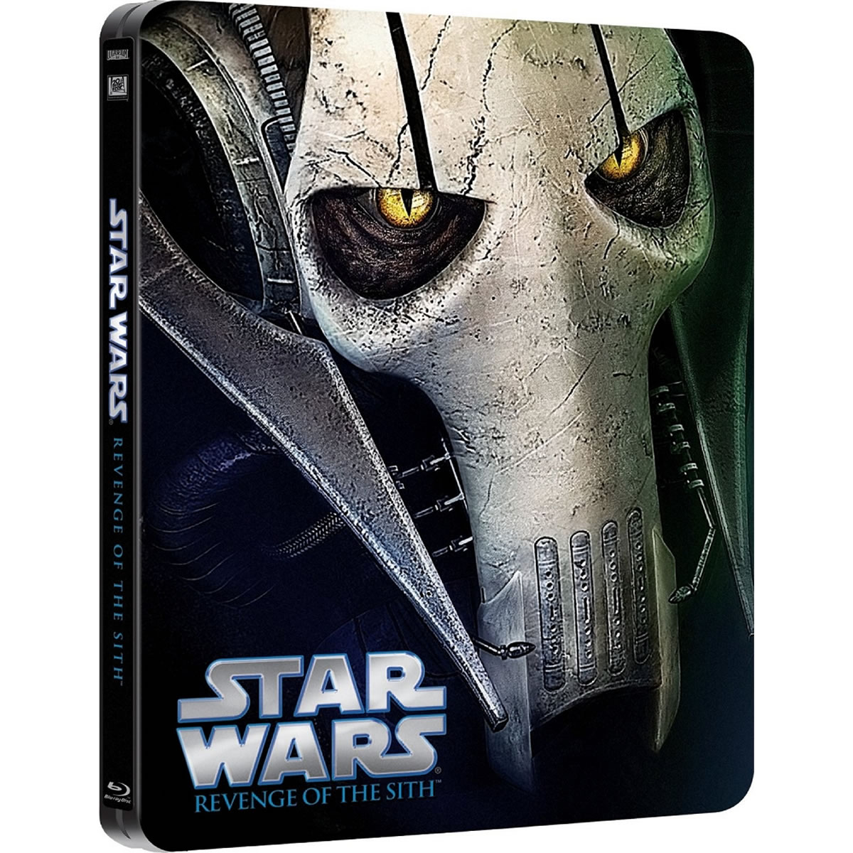 STAR WARS EPISODE III: REVENGE OF THE SITH Limited Edition Steelbook [Imported] (BLU-RAY)