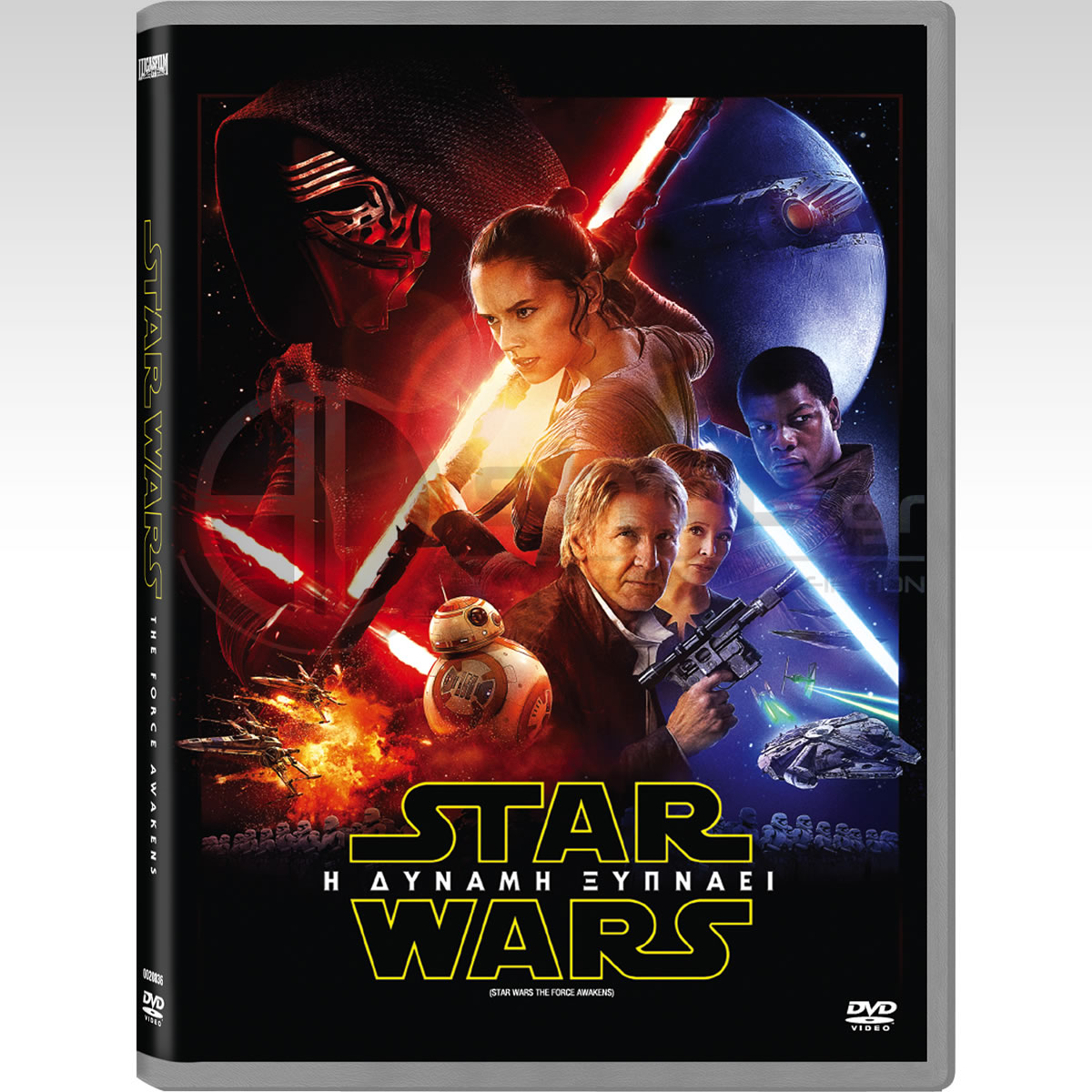 STAR WARS VII: THE FORCE AWAKENS - STAR WARS VII: Η ΔΥΝΑΜΗ ΞΥΠΝΑΕΙ [ΕΛΛΗΝΙΚΟ] (DVD)