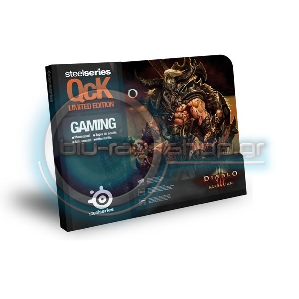 STEELSERIES SURFACE QcK DIABLO III BARBARIAN EDITION (PC)