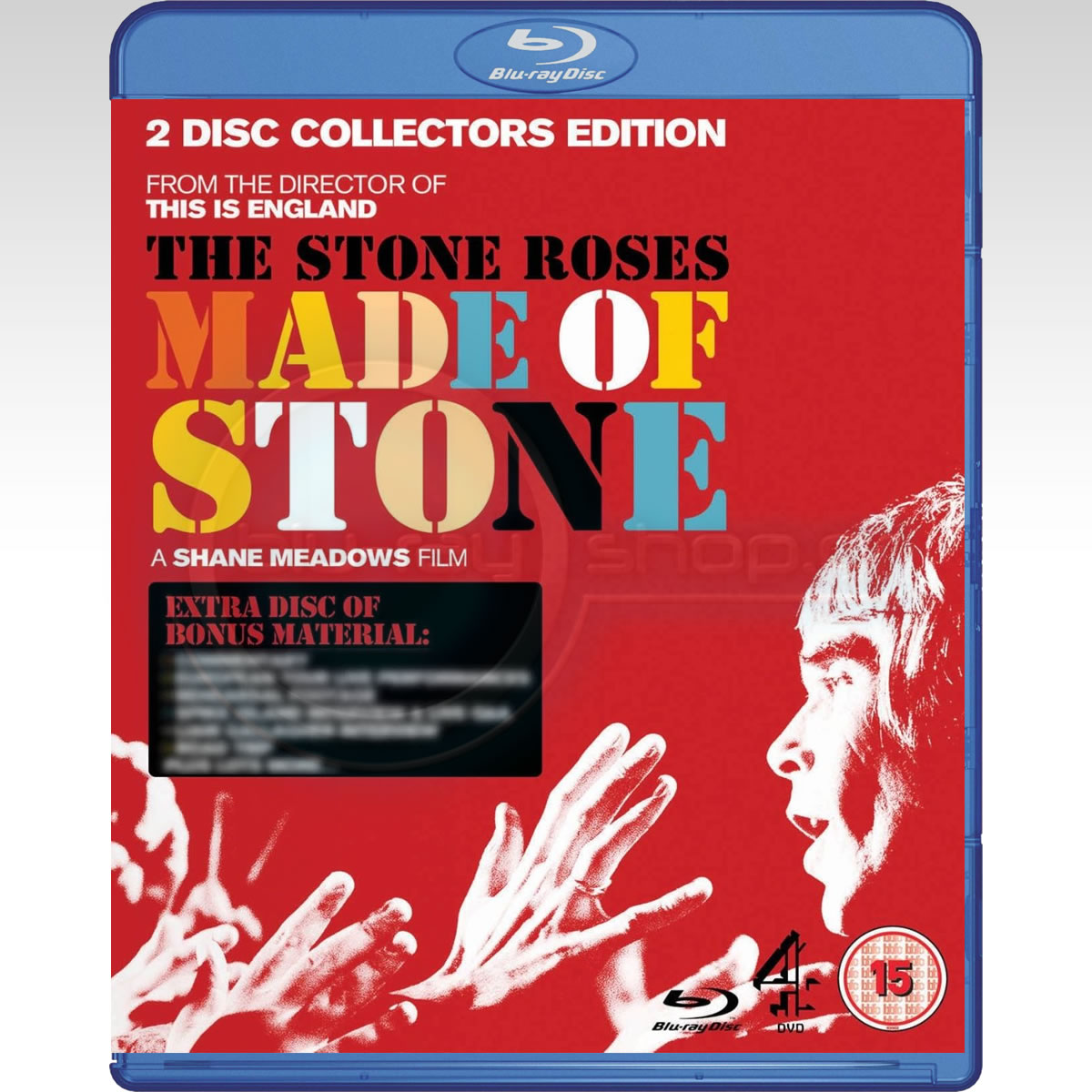 THE STONE ROSES: MADE OF STONE - 2 DISC COLLECTOR'S EDITION (2 BLU-RAYs)