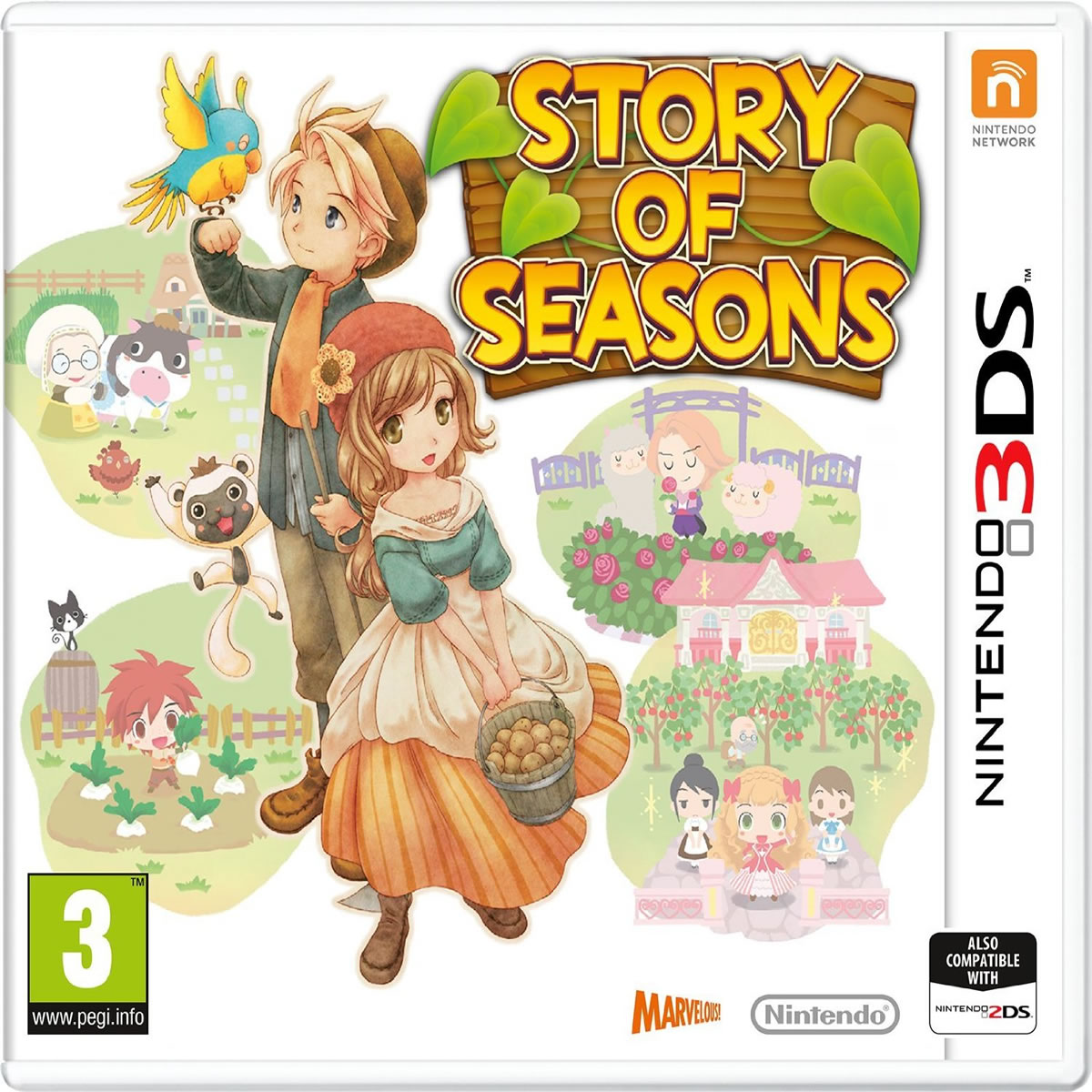 STORY OF SEASONS (3DS, 2DS)