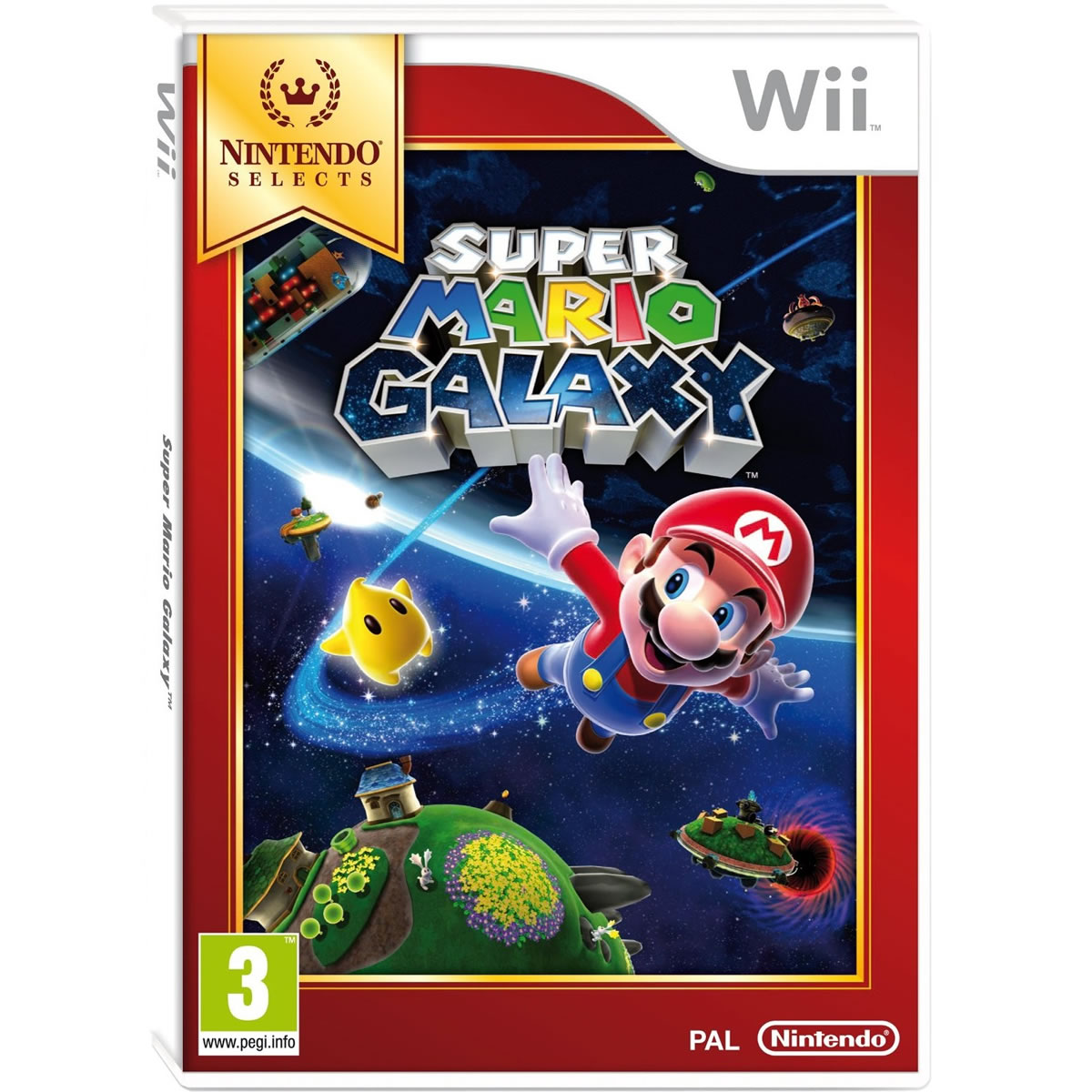 SUPER MARIO GALAXY - SELECTS (Wii)