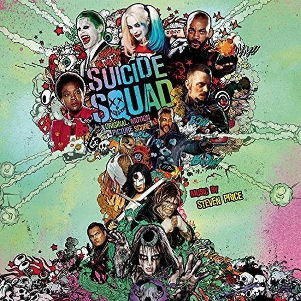 SUICIDE SQUAD - THE ORIGINAL MOTION PICTURE SOUNDTRACK (AUDIO CD)