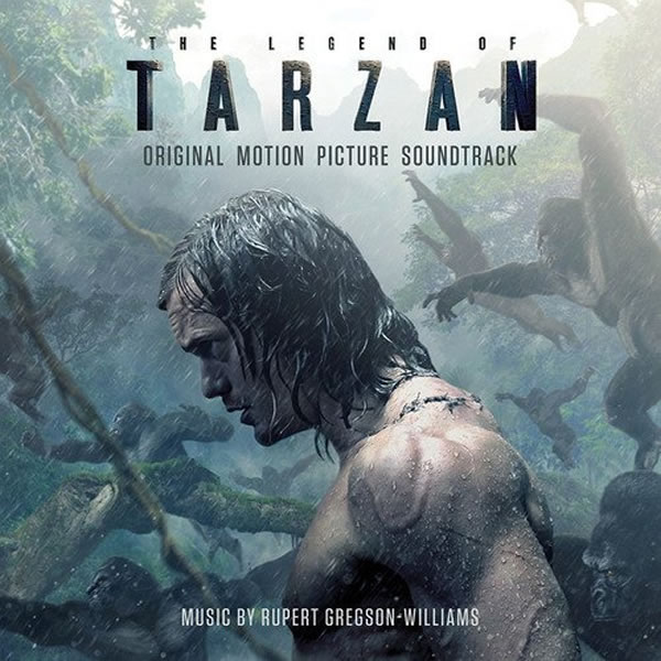 THE LEGEND OF TARZAN - THE ORIGINAL MOTION PICTURE SOUNDTRACK (AUDIO CD)
