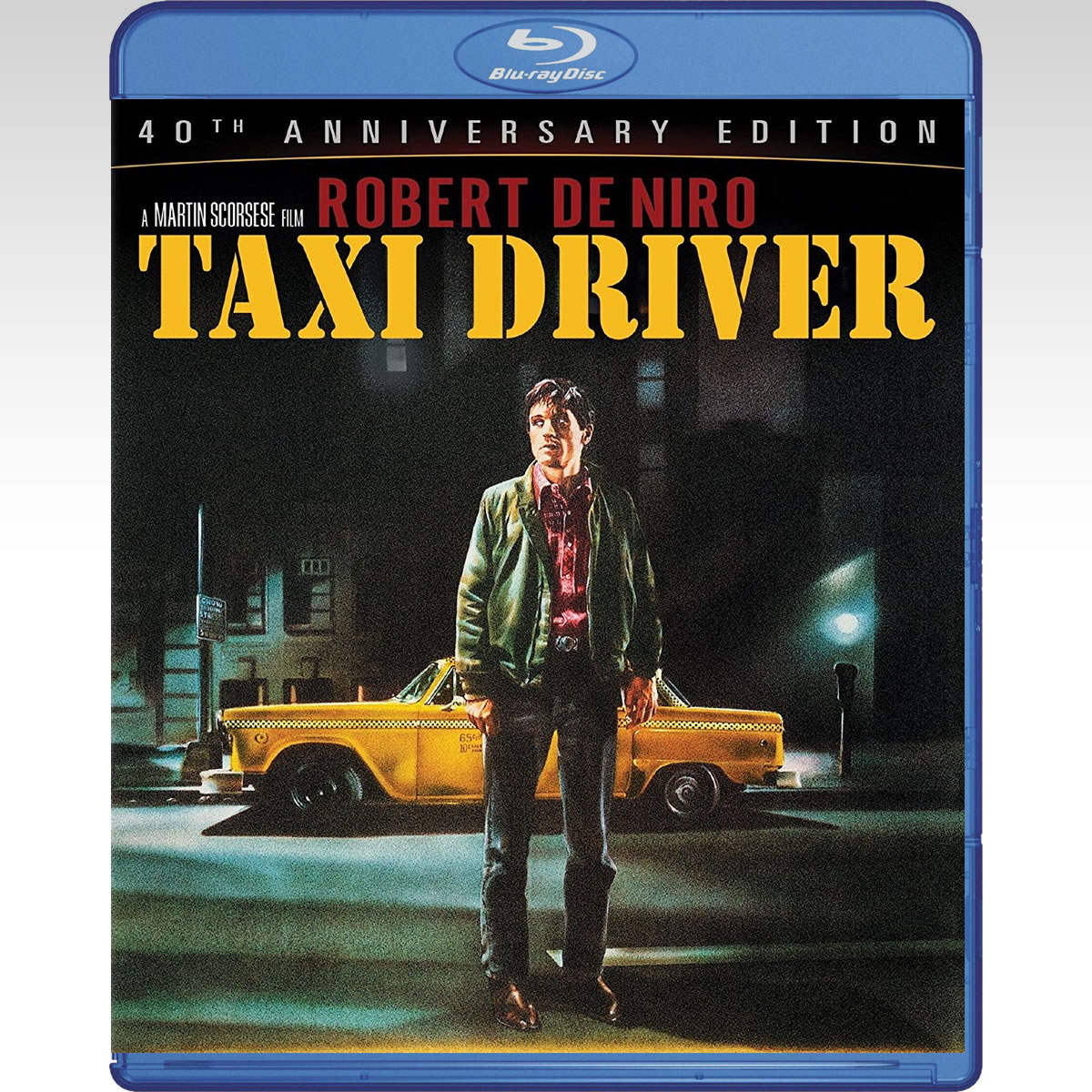 TAXI DRIVER - Ο ΤΑΞΙΤΖΗΣ 40th Anniversary Edition COMBO (BLU-RAY + DVD)