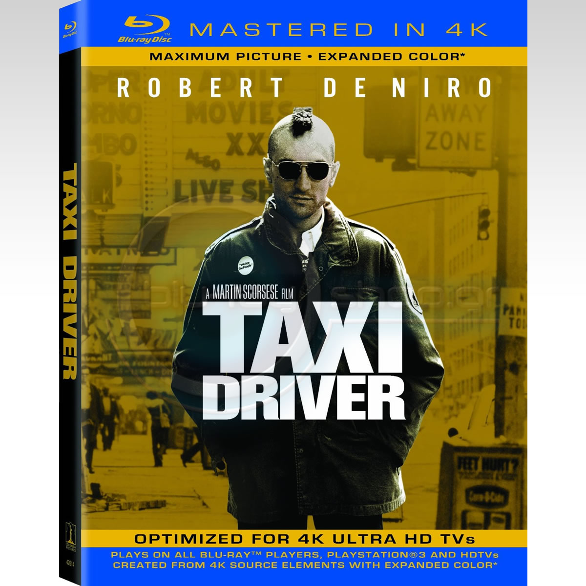 TAXI DRIVER - � �������� [4K MASTERED] (BLU-RAY)