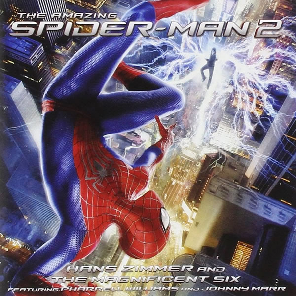 THE AMAZING SPIDER-MAN 2 - ORIGINAL MOTION PICTURE SOUNDTRACK (AUDIO CD)