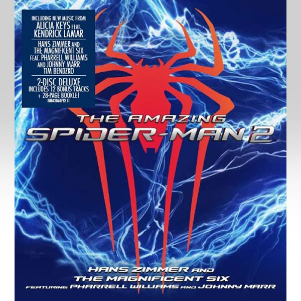 THE AMAZING SPIDER-MAN 2 - ORIGINAL MOTION PICTURE SOUNDTRACK [Deluxe Edition] (AUDIO CD)