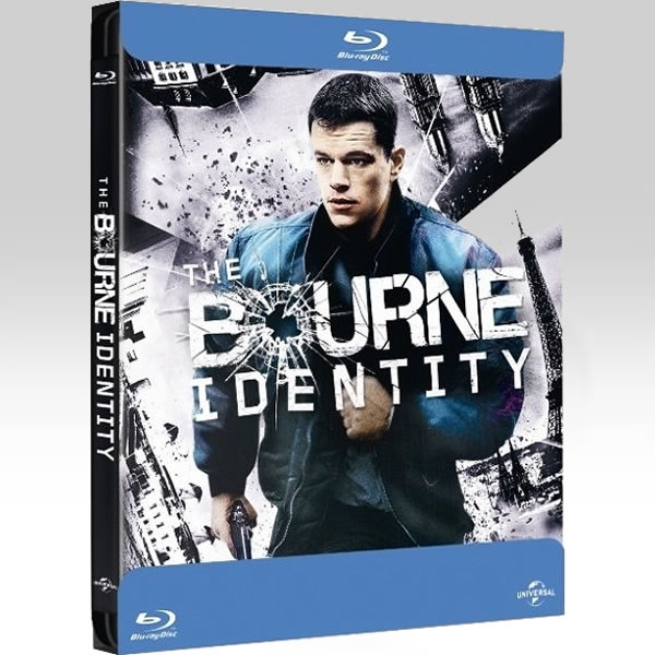 THE BOURNE IDENTITY - ����� ��������� Bullet Limited Edition Steelbook [��������� �� ���������� ����������] (BLU-RAY)