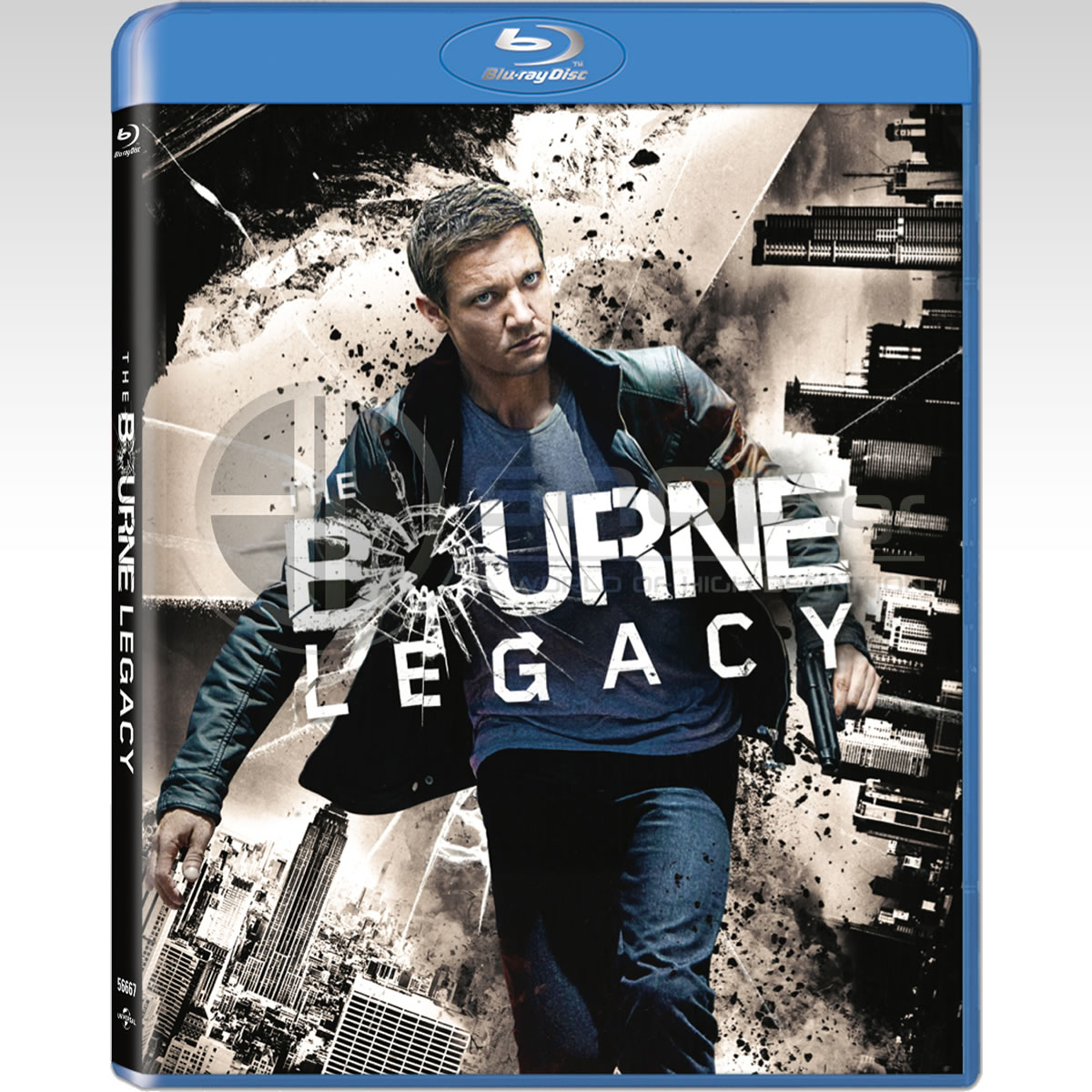THE BOURNE LEGACY - Η ΚΛΗΡΟΝΟΜΙΑ ΤΟΥ ΜΠΟΡΝ Bullet Special Edition (BLU-RAY)