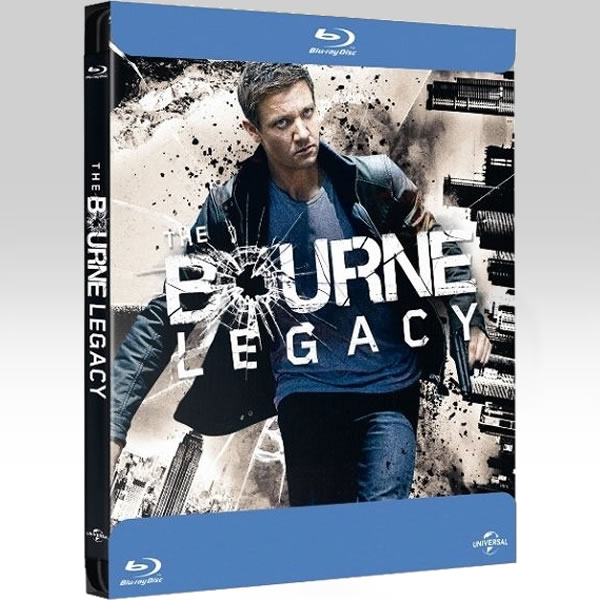 THE BOURNE LEGACY - � ���������� ��� ����� Bullet Limited Edition Steelbook [��������� �� ���������� ����������] (BLU-RAY)