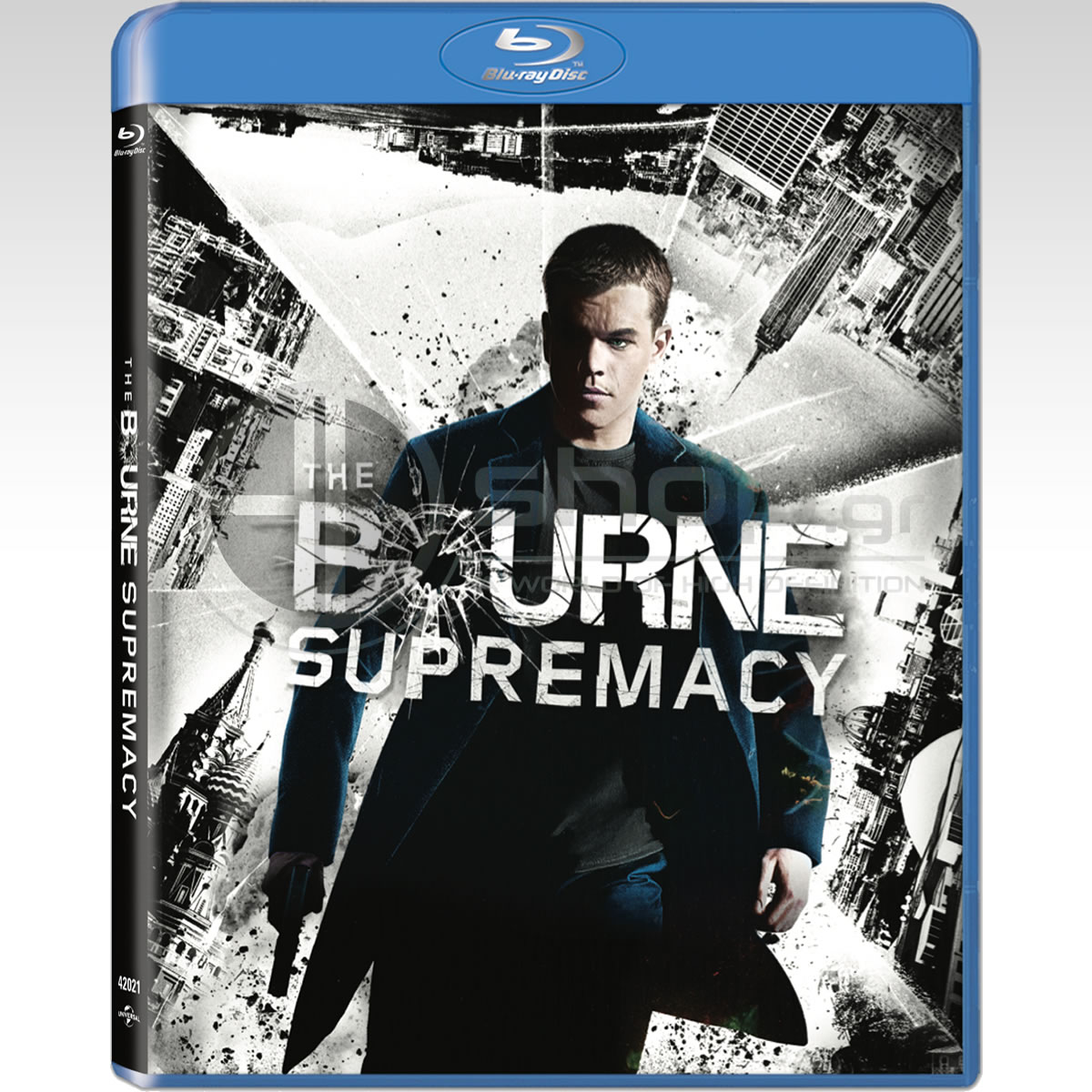 THE BOURNE SUPREMACY - ΣΤΗ ΣΚΙΑ ΤΩΝ ΚΑΤΑΣΚΟΠΩΝ Bullet Special Edition (BLU-RAY)