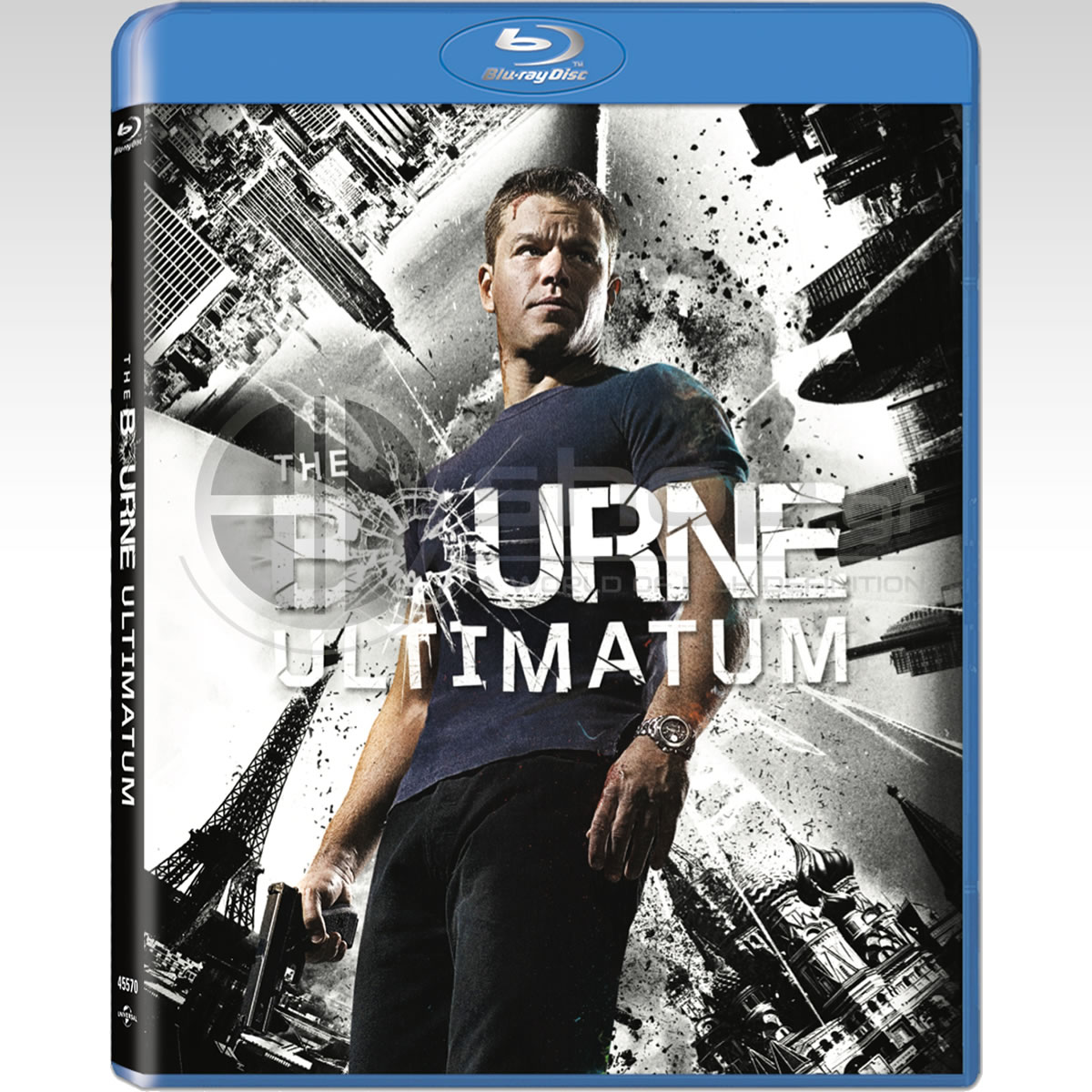THE BOURNE ULTIMATUM - ΤΟ ΤΕΛΕΣΙΓΡΑΦΟ ΤΟΥ ΜΠΟΡΝ Bullet Special Edition (BLU-RAY)
