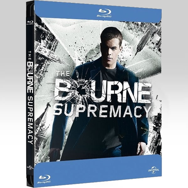 THE BOURNE SUPREMACY - ��� ���� ��� ���������� Bullet Limited Edition Steelbook [��������� �� ���������� ����������] (BLU-RAY)