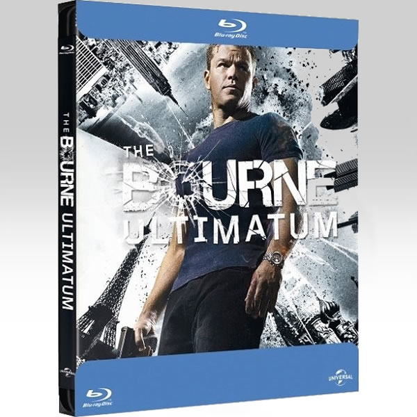 THE BOURNE ULTIMATUM - �� ����������� ��� ����� Bullet Limited Edition Steelbook [��������� �� ���������� ����������] (BLU-RAY)