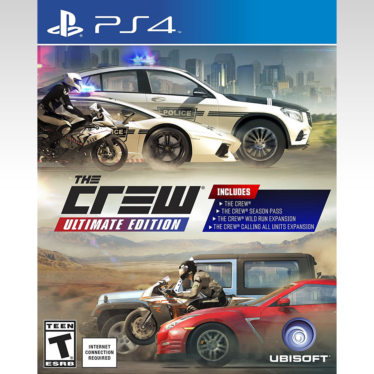 THE CREW - ULTIMATE EDITION (PS4)