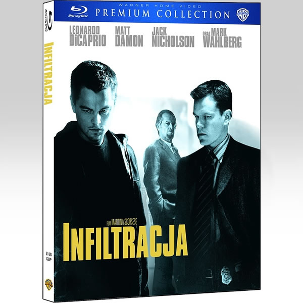THE DEPARTED - � ��������������� Premium Edition [��������� �� ���������� ����������] (BLU-RAY)