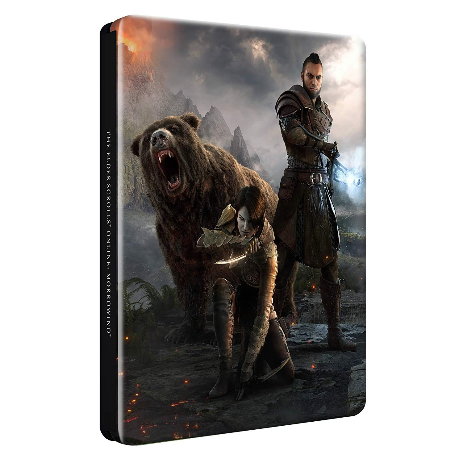 THE ELDER SCROLLS ONLINE: MORROWIND Steelbook Case (NO GAME INCLUDED) - THE ELDER SCROLLS ONLINE: MORROWIND Steelbook ΘΗΚΗ (ΔΕΝ ΠΕΡΙΕΧΕΤΑΙ ΠΑΙΧΝΙΔΙ) (PC, PS4, XBOX ONE)