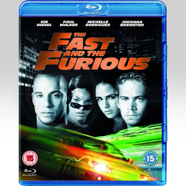 THE FAST AND THE FURIOUS - �� ������� ��� ������ (BLU-RAY)